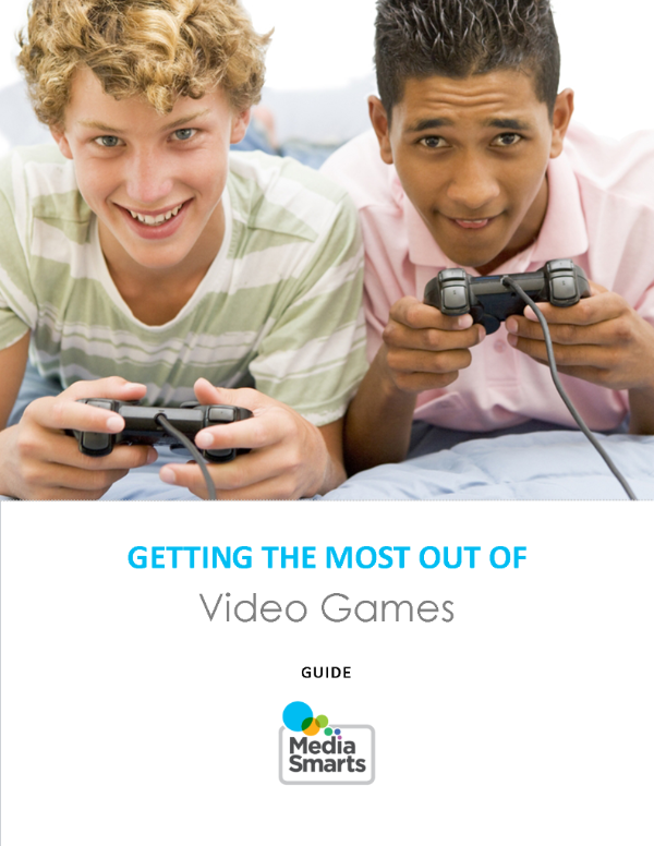 Digital Citizenship guide to video games